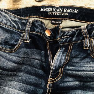 American Eagle Super Low Rise Jegging